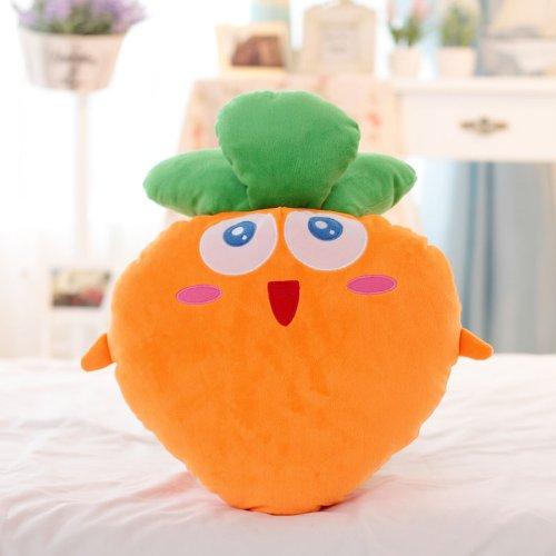 保卫萝卜 毛绒手捂抱枕 大萝卜公仔玩具抱枕靠垫 可爱抱枕款 35cm