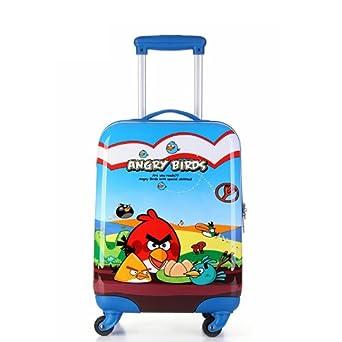 箱小孩行李箱万向轮可爱小朋友卡通幼儿园上学书包 年终热卖 愤怒小鸟