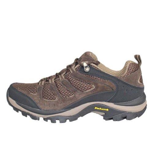 Kolumb 哥仑步 男子户外低帮透气防滑徒步鞋 303712 咖啡