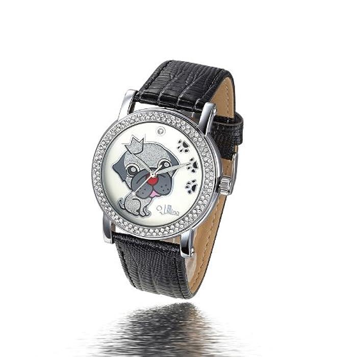 可爱小狗石英手表