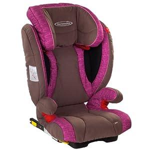 STM斯迪姆汽车儿童安全座椅宇宙超人(梅子红)适合15-36kg(约3-12岁)