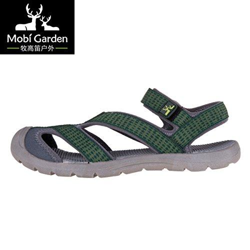 Mobi Garden 牧高笛 户外 春夏包头鞋防滑耐磨橡胶大底舒适沙滩鞋男凉鞋女