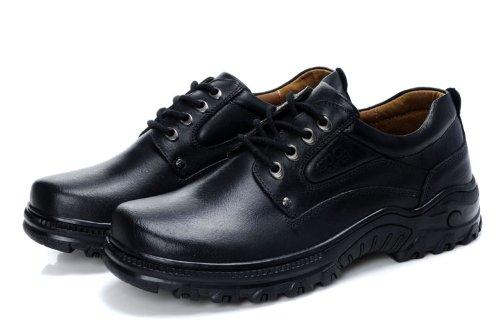 Guciheaven 古奇天伦 新款王力宏同款真皮大头皮鞋 日常商务休闲皮鞋 系带低帮男鞋正装鞋 男鞋