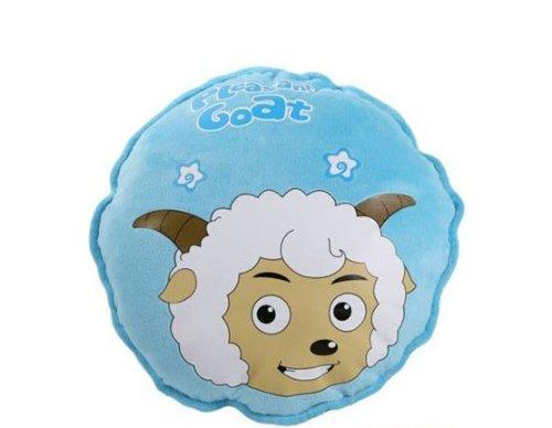 羊头像 可爱 圆形