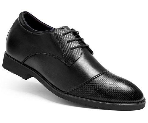 Gog/高哥 高哥增高鞋内增高男式鞋男士商务正装皮鞋 新款真皮男鞋94901