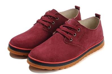 丹度dundu男鞋休闲板鞋真皮男鞋子男士时尚潮流低帮