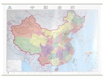 2014年新版中国地图挂图 2米x1.5米