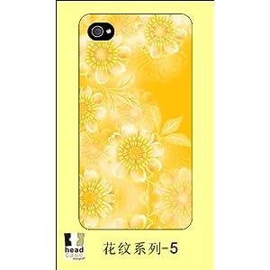 headcase iph4/4s 花纹系列 (金黄)