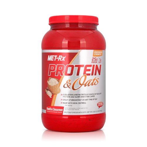 MET-Rx 美瑞克斯 燕麦乳清蛋白粉(香草肉桂)907g(进口)-图片