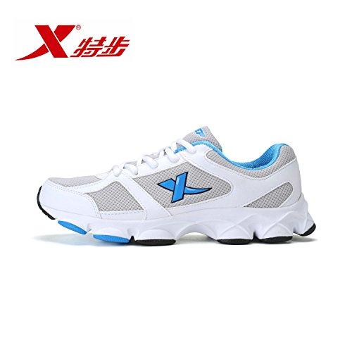 XTEP 特步 透气轻便休闲情侣跑步鞋987118119358