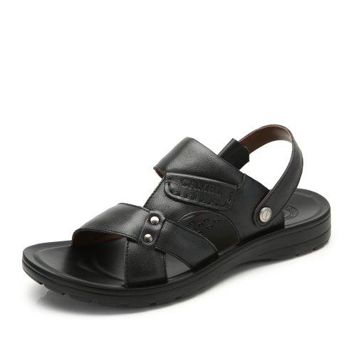 Camel 骆驼 男鞋凉鞋 日常休闲舒适男士流行凉拖鞋 夏季新品沙滩鞋时尚潮流男鞋A422210022