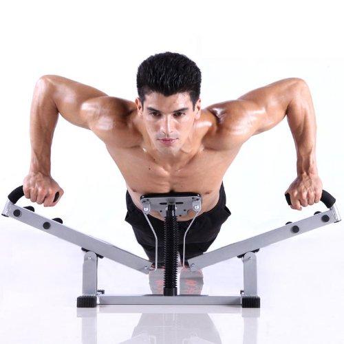 5AFIT 我爱健身 多功能俯卧撑支架 室内家用健身器材 胸肌锻炼器 情人节礼物  黑色-图片