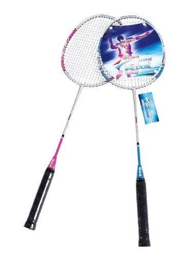 【暑期疯享惠】5AFIT 我爱健身 铝合金情侣拍 羽毛球拍 家用  5508-图片