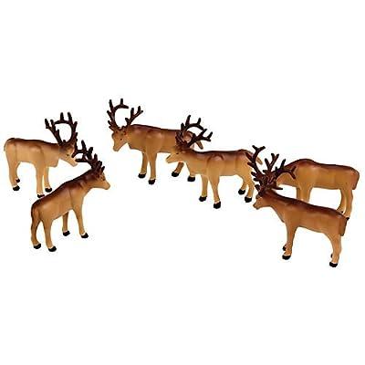 lionel 驯鹿动物系列极地高速列车套装
