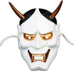 快乐派对 电影主题 高档树脂面具 日本鬼首般若面具 珍藏版般若主题