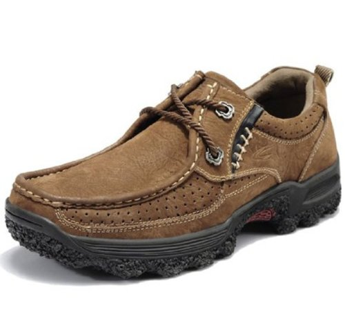 Camel Active 骆驼动感 春季新款男鞋 男士户外休闲鞋 磨砂皮徒步鞋 低帮透气男鞋