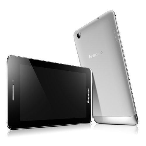 Lenovo 联想 Ideatab S5000-H 7.0英寸平板电脑(1.2G主频 1G内存 16GB存储 前后摄像头 蓝牙 WCDMA 支持通话短信功能 支持联通3G网络 支持HSPA+网络 重力感应器 光线感应器 霍尔感应器 内置GPS A-GPS IPS高清广视角硬屏 电容式多点触控 Android4.2 银色) VIBE X家族设计,一半的价格!极致轻薄,3G可通话!业界领先承诺15天无理由退还,购机体验毫无压力!-图片