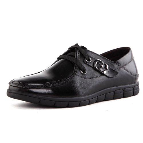 Tony Johnson/托尼琼斯 秋季新品透气牛皮商务休闲系带男鞋 Q6563290