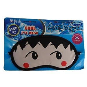 妙诺 卡通冰眼罩睡眠眼 罩遮光眼罩冰袋(樱桃小丸子)