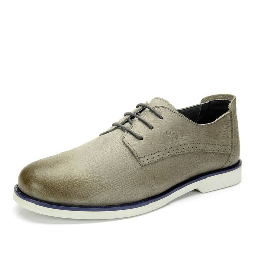Camel 骆驼 男鞋 日常休闲男士鞋子夏季新款真皮牛皮时尚休闲舒适皮鞋A422147010