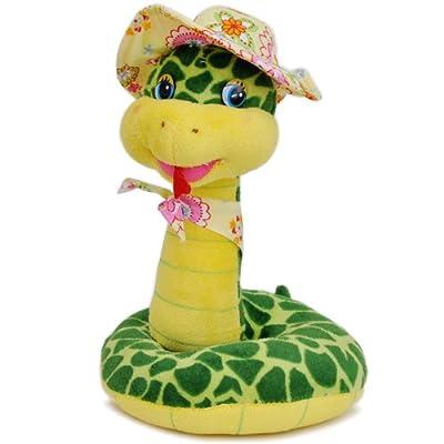 布艺手工制作动物小蛇