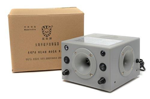 鼠敌牌sd08-f4大功率超声波驱鼠器 电子灭鼠器电猫捕鼠器仓库酒店