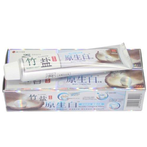 LG竹盐健康美白牙膏105g 2 新老包装更替中