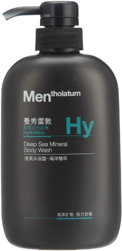 Mentholatum 曼秀雷敦 清爽沐浴露500ml*2瓶(海洋精华+天然活炭)