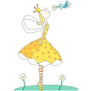 万众家园 十字绣 客厅卧室人物画 可爱卡通 小公主之和平 11ct rs线 3
