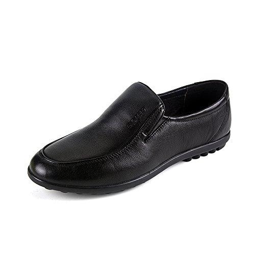 PLO·CART保罗盖帝男鞋 2014年秋季正品真皮商务休闲软皮高端皮鞋