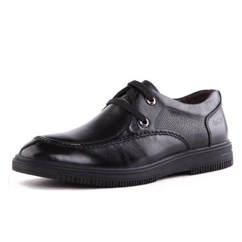 Tony Johnson/托尼琼斯 秋季新品透气牛皮商务休闲系带男士皮鞋 Q5563309