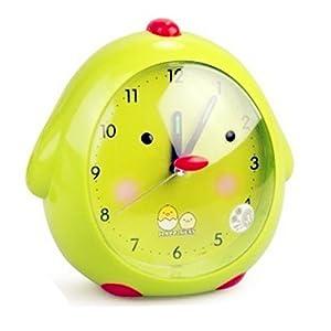 韩版超萌 创意可爱 卡通小鸡儿童闹钟 会说话的 懒虫起床闹钟 带夜光