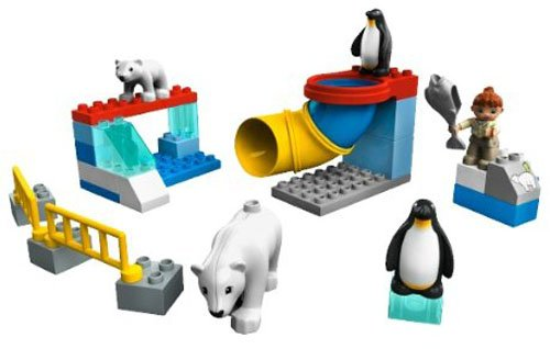 回至lego 乐高 得宝主题拼砌系列 极地动物园5633