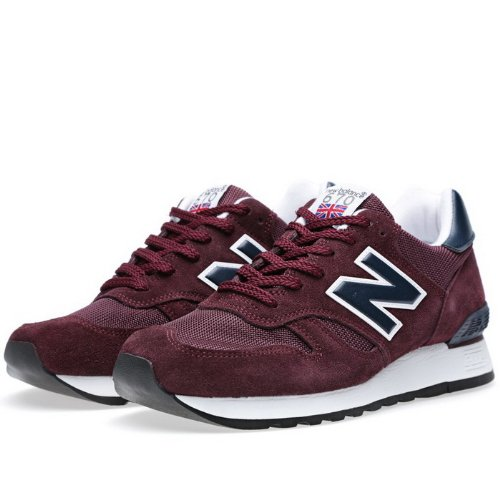 NewBalance 新百伦 670系列慢跑鞋 男子休闲跑步  男式跑鞋 酒红色M670SBN