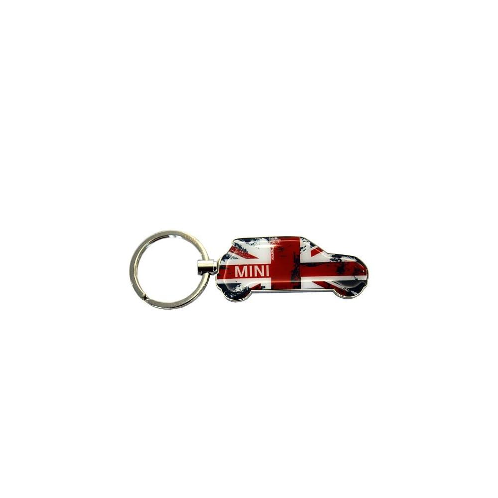 原厂 迷你mini 汽车精品 britcar钥匙环 钥匙扣 钥匙圈 花色高清图片