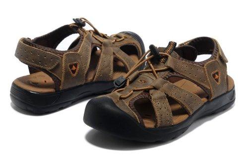 Deewahua 新款包头 时尚潮流男士日常户外沙滩鞋 溯溪鞋 登山凉鞋 百搭日常休闲男鞋