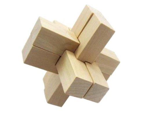 好幼礼 成人益智智力玩具 成人玩具 鲁班锁解锁玩具 六根孔明锁图片