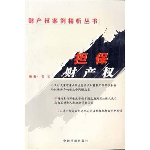 担保财产权/财产权案例精析丛书