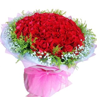 鲜花速递 特价99朵玫瑰花束|全国鲜花速递|99朵红玫瑰|求婚求爱生日鲜花 行业