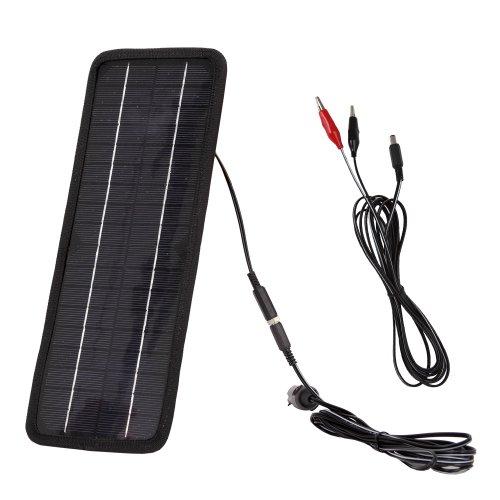 4.5W车载车用 太阳能 电池板 充电器 汽车 12V 电 4.5W车载车用 太阳