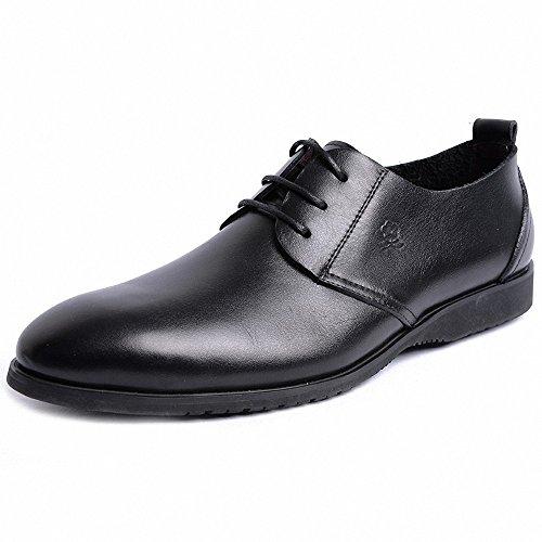 Montagut 梦特娇 正品男鞋2014春季商务正装男士真皮鞋大码鞋45码A4112044A