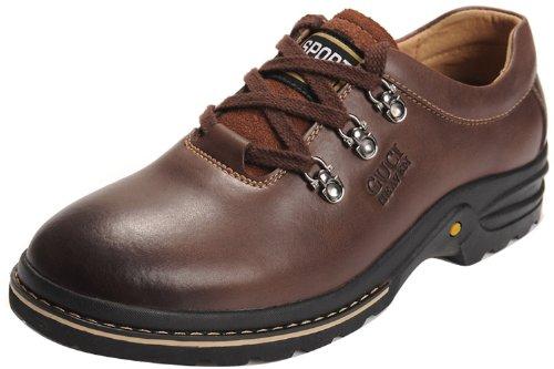 Guciheaven 古奇天伦 2013新款耐磨板鞋真牛皮 韩版工装鞋日常休闲皮鞋增高男鞋