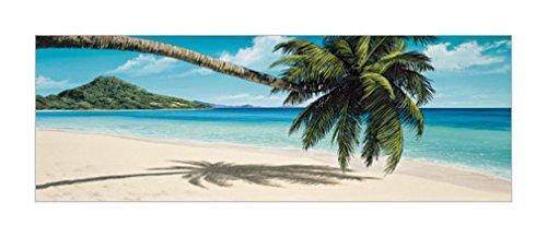 树木画|棕榈树|树木装饰画|沿海景观装饰画|树木种类|海滩风景|海滩