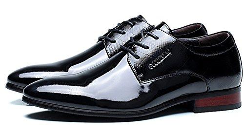 FGN 富贵鸟 秋冬款时尚单鞋 尖头商务皮鞋 潮流休闲英伦男鞋 男士皮鞋