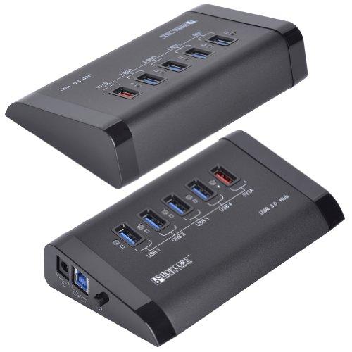 创科锐BC-U3H5-BK双核高速USB3.0集线器毛衣男图片