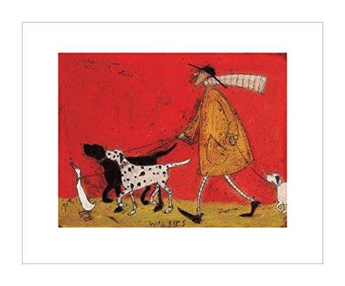 民俗艺术装饰画|狗装饰画|装饰画家|狗|鸟类|动物装饰画|家畜|鸟类