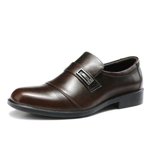 FGN 富贵鸟 商务正装鞋英伦低帮鞋真皮男鞋皮鞋 A383832