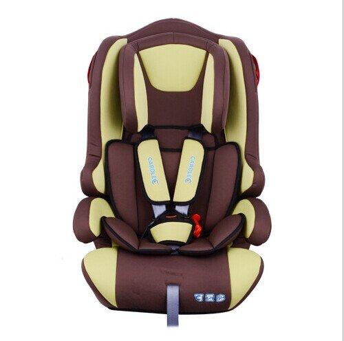 cardle可爱多-lm213 (咖啡绿)婴儿儿童安全汽车座椅儿童安全座椅 婴儿