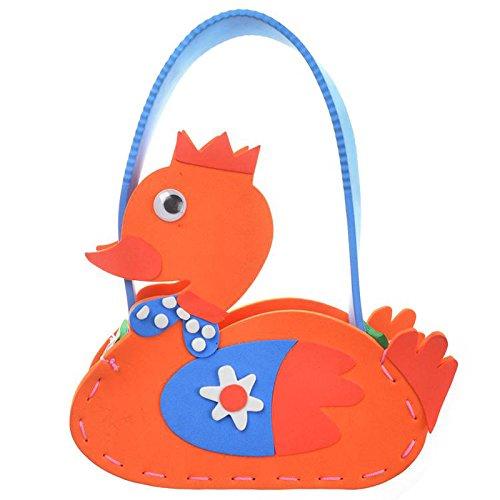 孩派eva儿童手工制作材料 diy手工材料幼儿 k1-10包包 手工包 (动物