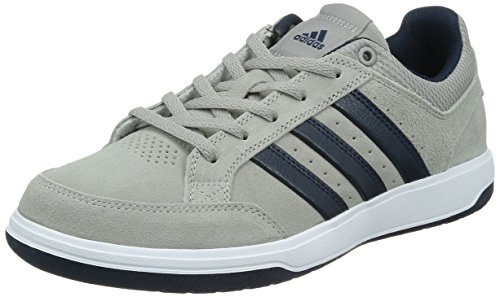 adidas 阿迪达斯 TENNIS CULTURE 男 网球鞋oracle VI STR Suede  S41869 纯质灰/学院藏青蓝/白 44 (UK 10)